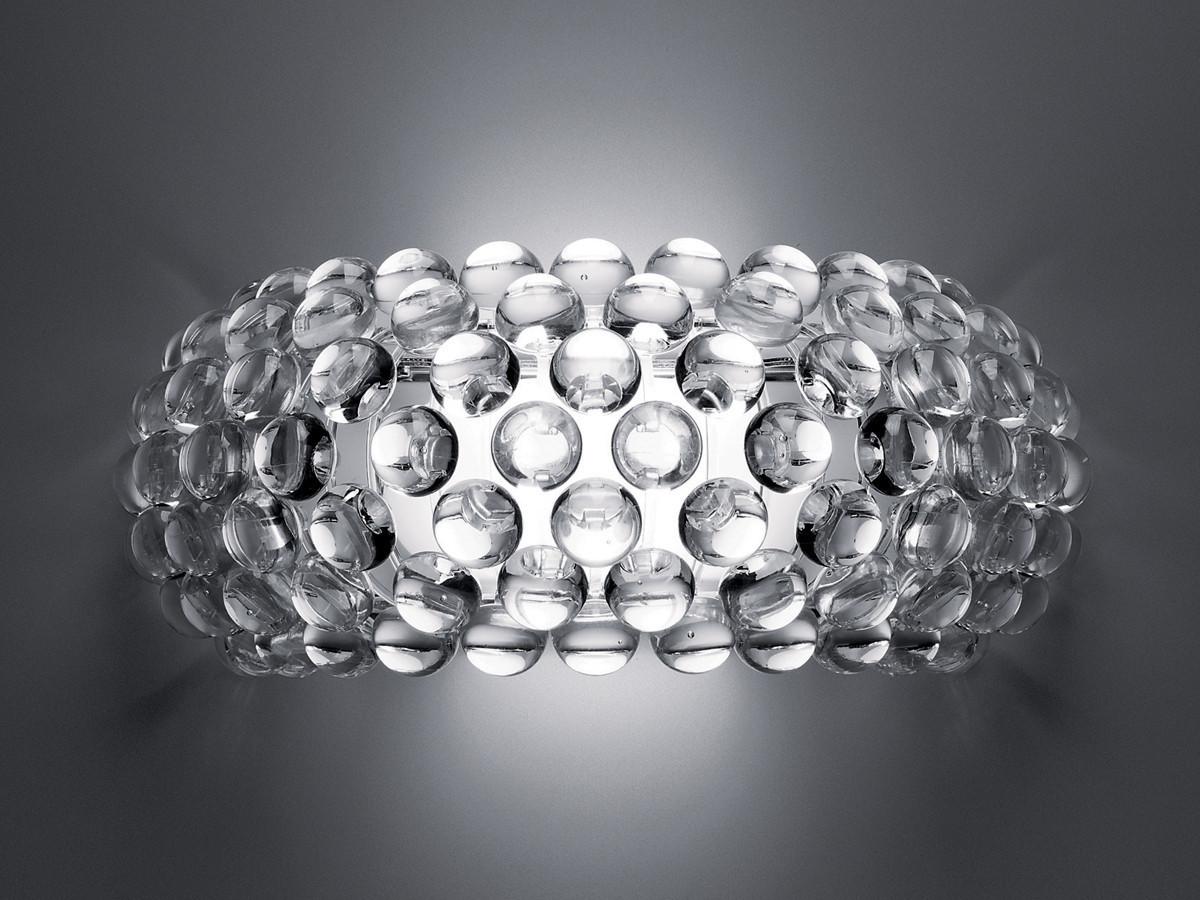 Настенный светильник копия CABOCHE media by Foscarini (янтарный)