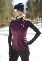 Женский лыжный жилет Nordski Motion Purple