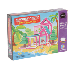 Конструктор магнитный Мagic Мagnetic 38 дет JH 8815