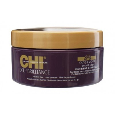 CHI Deep Brilliance: Помада для придания волосам блеска и гладкой эластичной фиксации (Smooth Edge), 54г