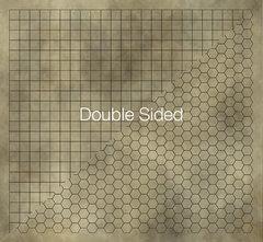 Магнитное двухстороннее поле для игры в D&D (60х66 см)