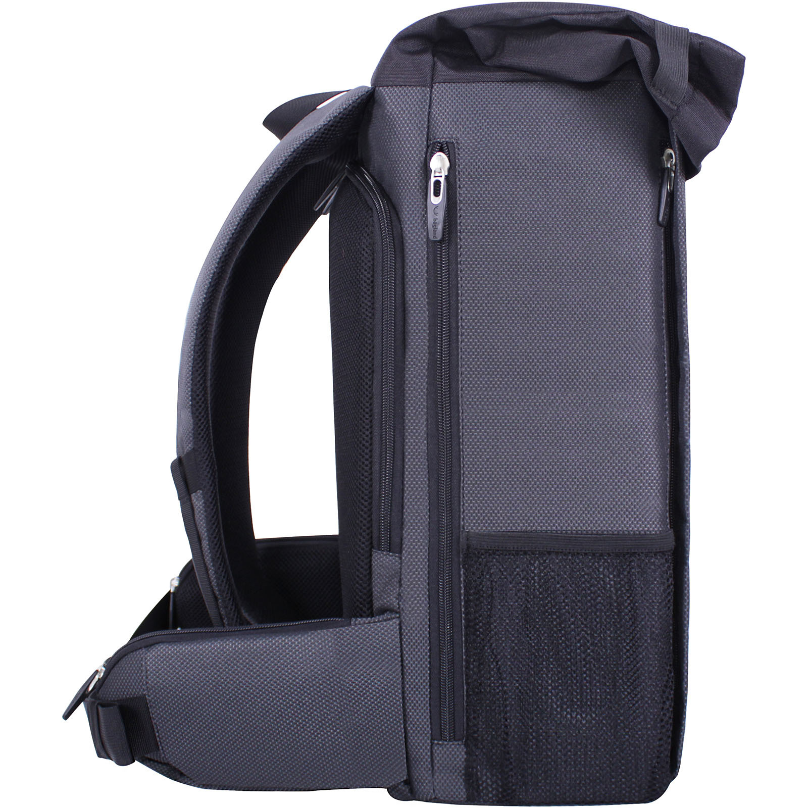 Рюкзак для ноутбука Bagland Roll 21 л. Чёрный (00156169) фото 3