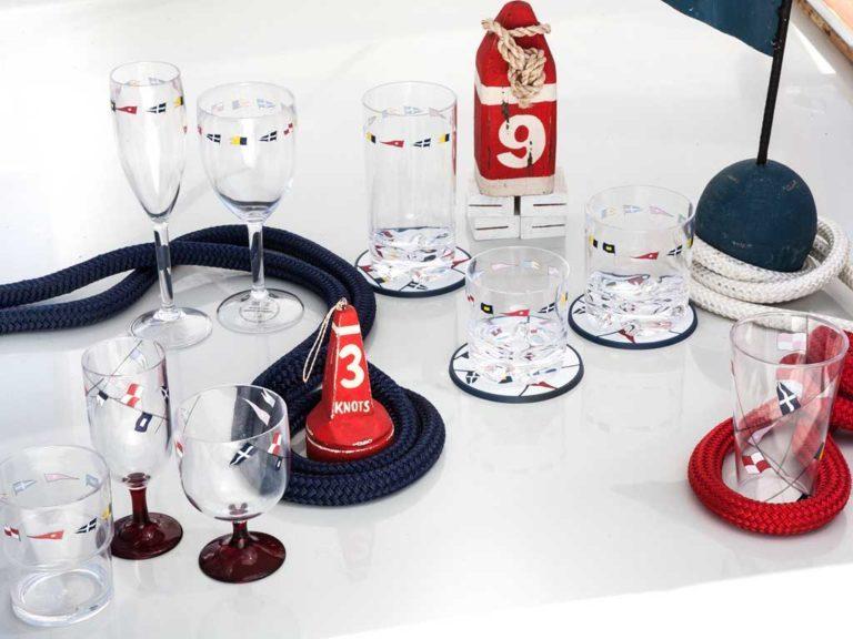 STACKABLE GLASSES (SET OF 12), REGATA