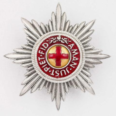 Звезда ордена св. Анна (копия)