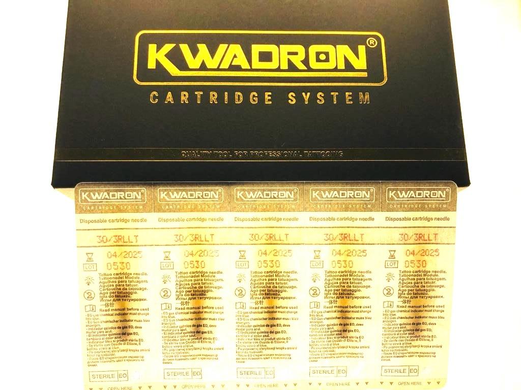 """KWADRON Round Liner 30/3RLLT"" -20 шт. упаковка Модульные иглы для татуажа"