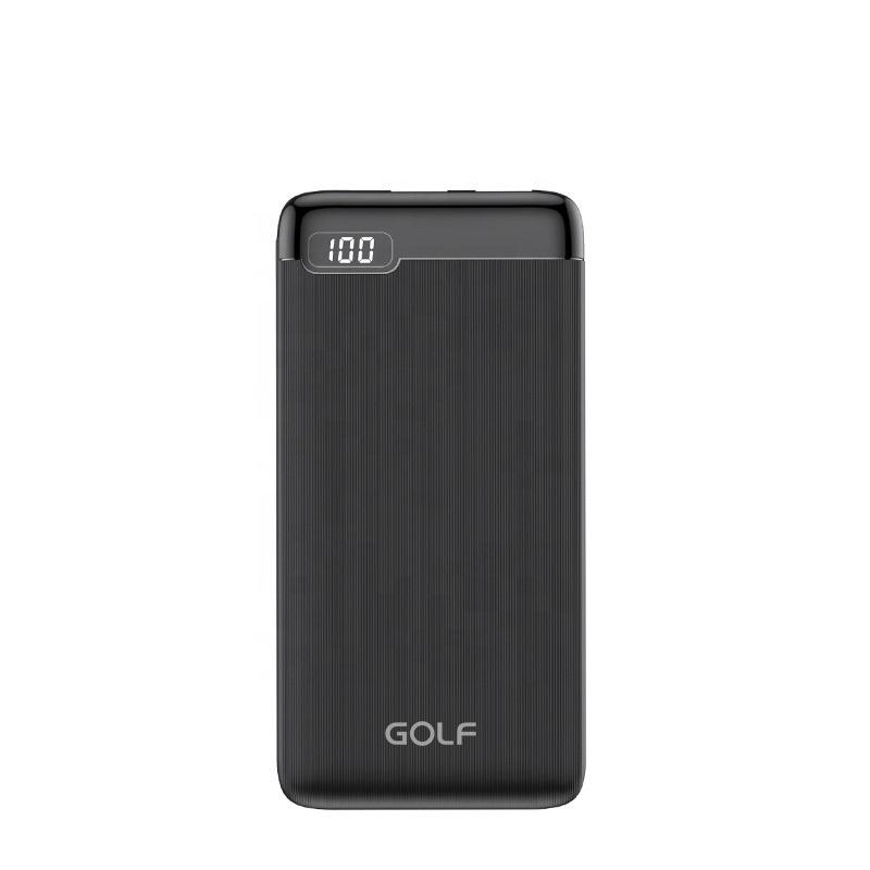 Внешний аккумулятор GOLF LCD 21 10,000 mAh