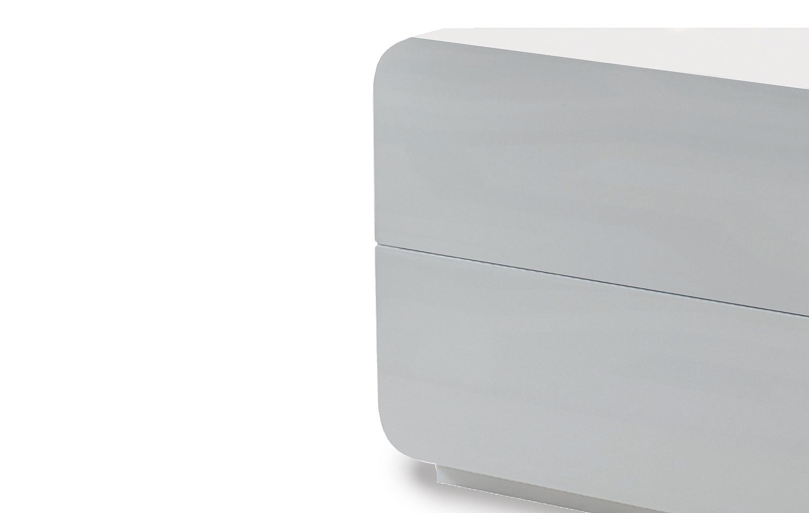 Тумба прикроватная ESF NS103 белая