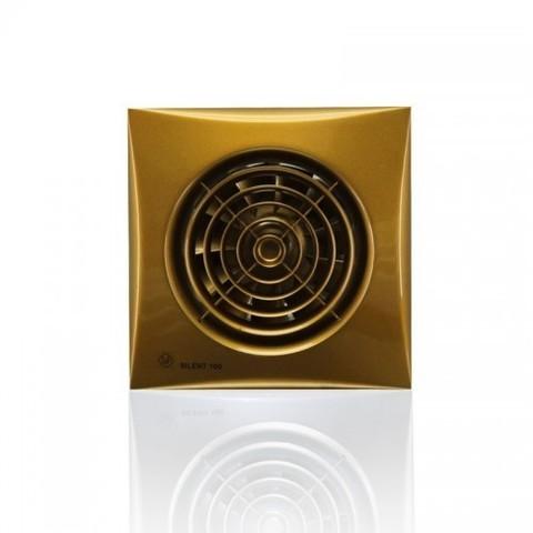 Накладной вентилятор Soler & Palau SILENT-100 CRZ GOLD (таймер)