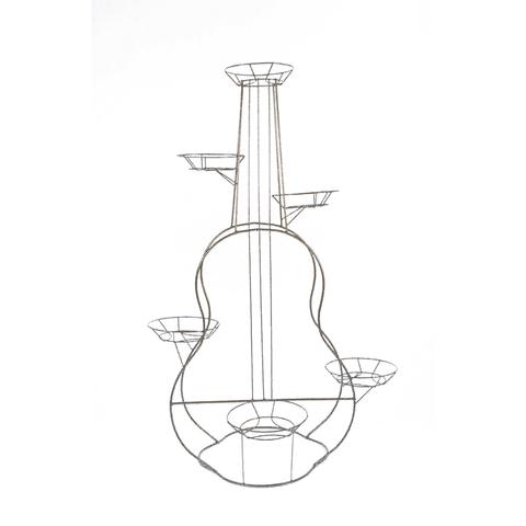 Подставка для цветов напольная Гитара на 6 горшков