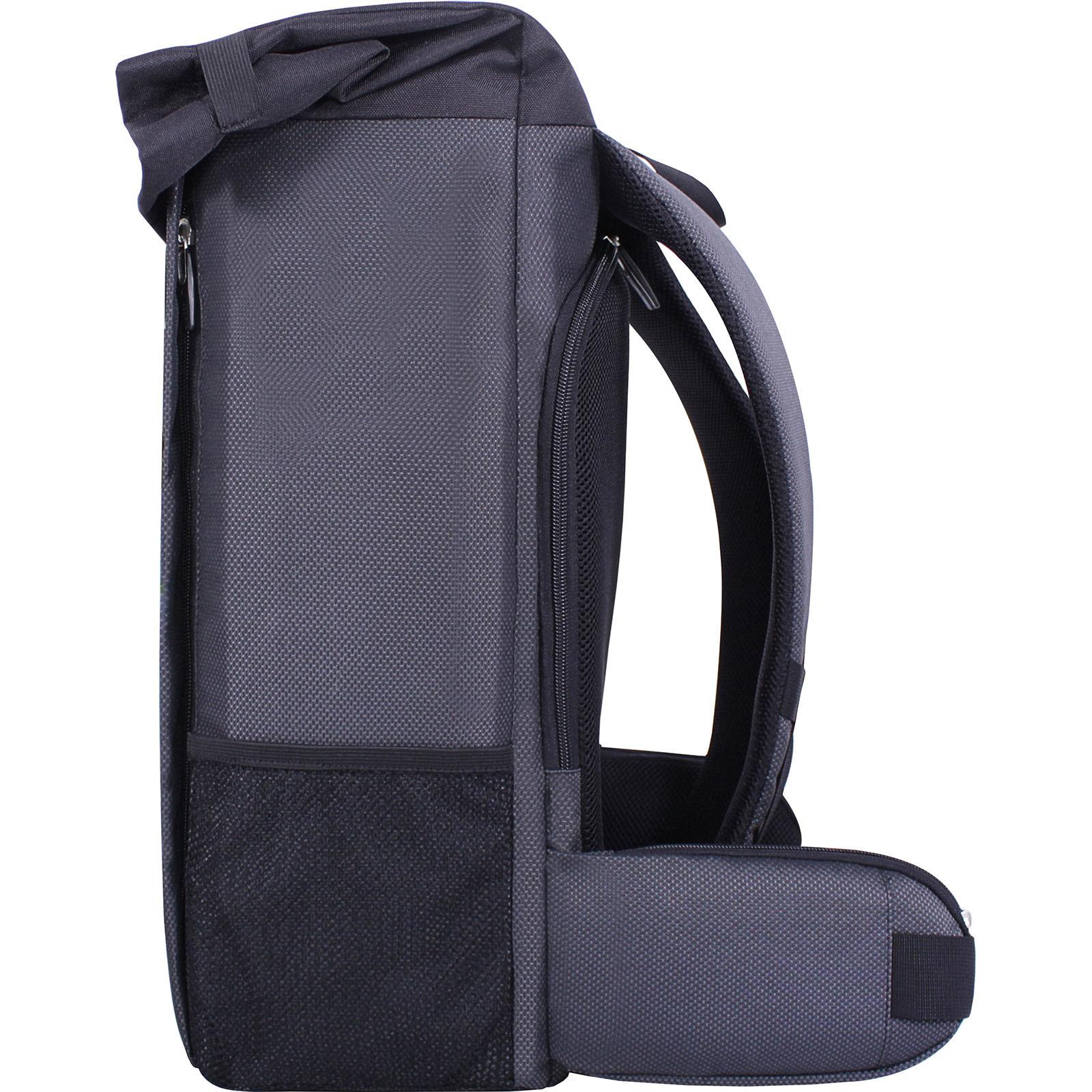 Рюкзак для ноутбука Bagland Roll 21 л. Чёрный (00156169) фото 4