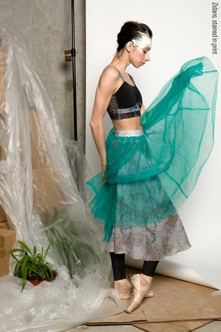 Safety netting tutu skirt