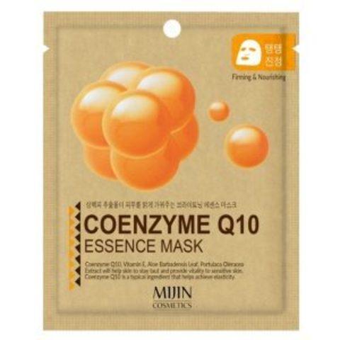 Тканевая маска с коэнзимом Q10 MIJIN Cosmetics Coenzyme Q10 Essence Mask