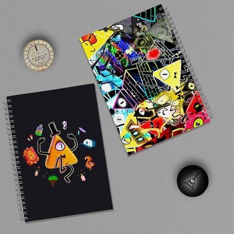 Билл Шифр: набор из 2 тетрадей и 2 значков