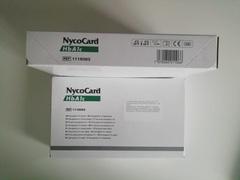 1042184 стар./1116083 Тест-система для определения гликолизированного гемоглобина в крови чел (NycoCard HbA1c), 24 теста (Axis-Shield, Норвегия)