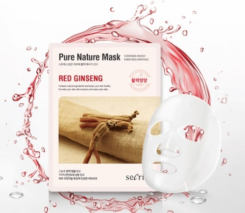 ANSKIN Secriss Pure Nature Mask Red Ginseng