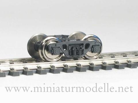 Тележки ЦНИИ-Х3, с колёсами 1:87 2 шт.
