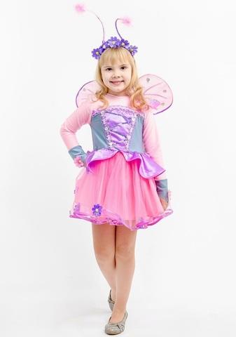Костюм Бабочка Розовая 1