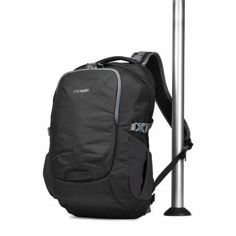 Картинка рюкзак городской Pacsafe Venturesafe 25L G3 черный - 4