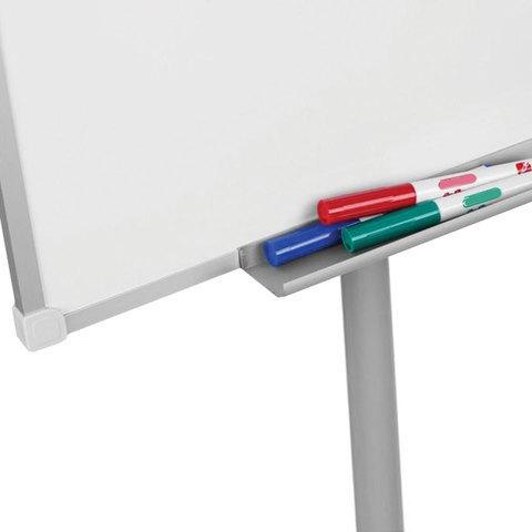 Доска-флипчарт BRAUBERG магнитно-маркерная, стандарт, 70х100 см, передвижная.