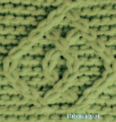 Пряжа Puffy Fine Alize 485 зеленый, фото