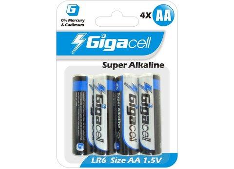 Батарейка Gigacell LR6-4 (4шт)