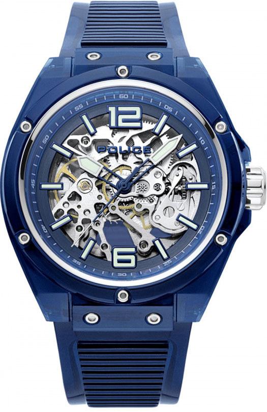 Часы мужские Police PL.15924JPBL/48P Translucent