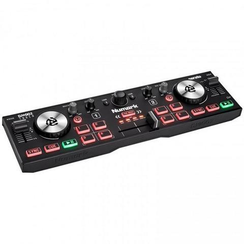 NUMARK DJ2GO2 Touch, сверхпортативный DJ-контроллер