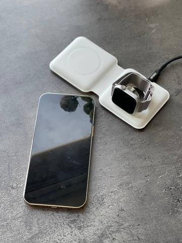 Беспроводная зарядка MagSafe Duo Charger /white/