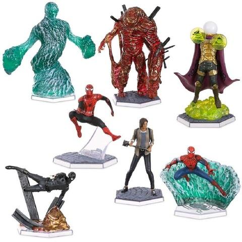 Человек-паук: Вдали от Дома Набор из 7 Фигурок