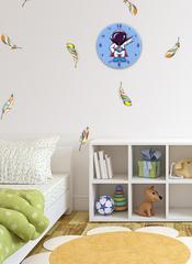Часы настенные 28 см/ Детские часы ЧЗ ИДЕАЛ, плавный бесшумный механизм