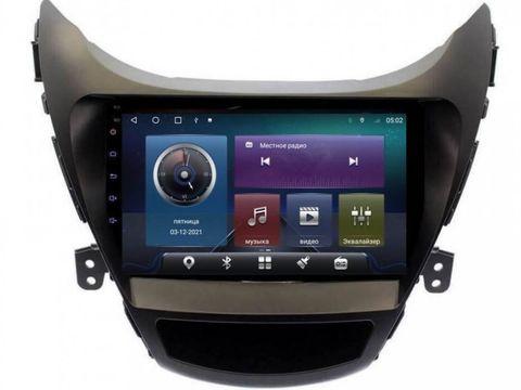 Магнитола для Hyundai Elantra/Avante (10-13) Android 10 4/64GB IPS DSP 4G модель CB-2141TS10