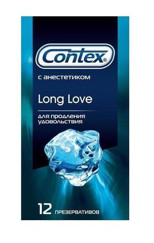 Презервативы с продлевающим эффектом Contex Long Love - 12 шт.