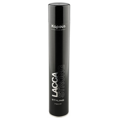 KAPOUS лак аэрозольный для волос сильной фиксации 750мл.
