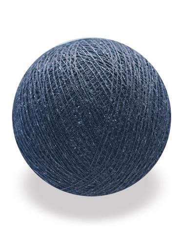 Хлопковый шарик серо-голубой