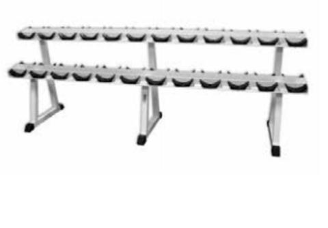 MB 1.18 Стойка для хранения профессиональных гантелей на 12 пар