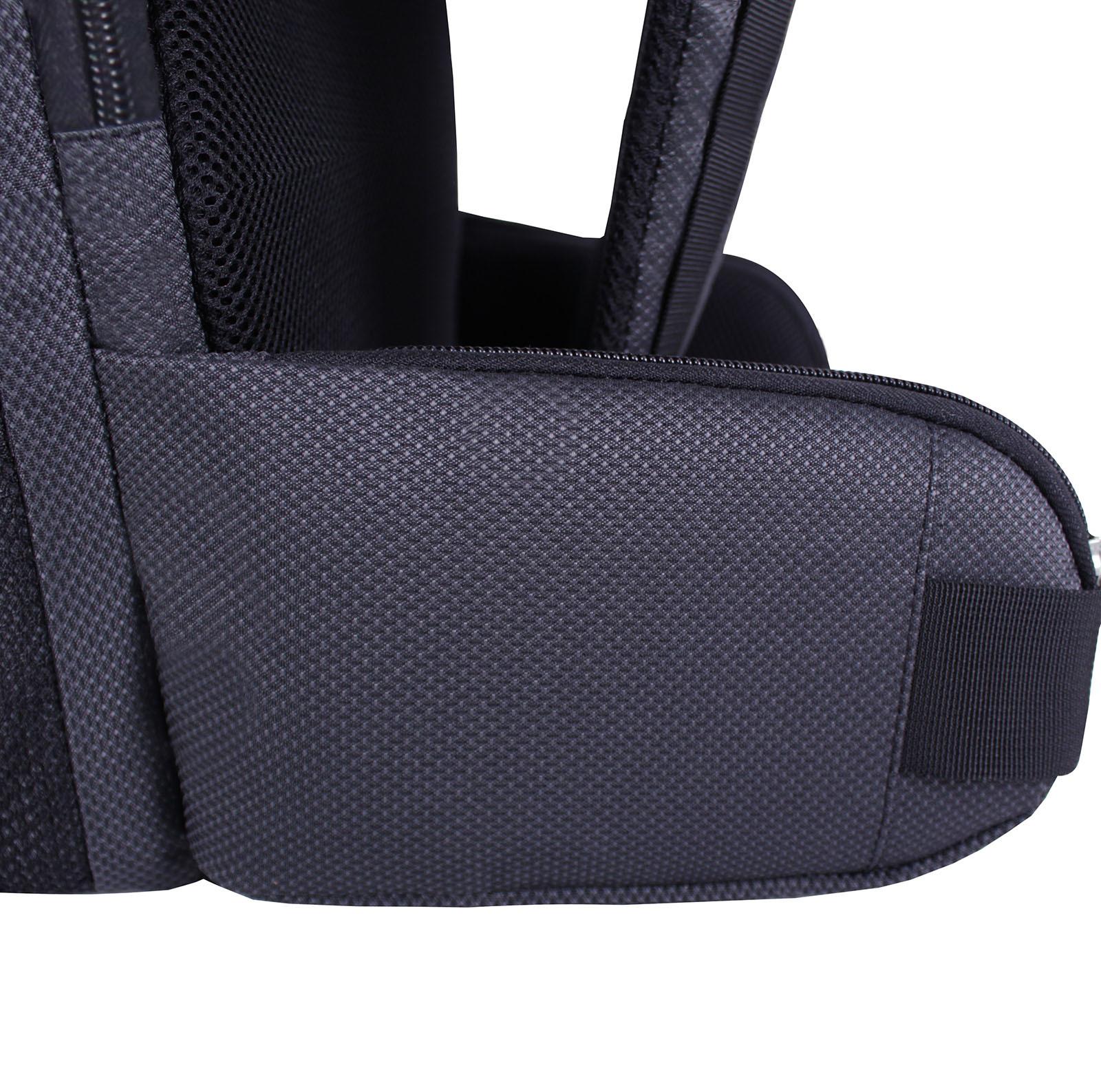 Рюкзак для ноутбука Bagland Roll 21 л. Чёрный (00156169) фото 6