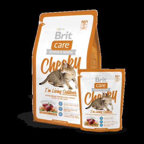 Brit Care Cheeky Outdoor Сухой корм для активных кошек и кошек уличного содержания