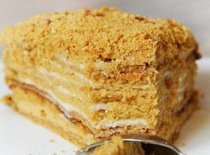 Карамельный медовик безглютеновый торт