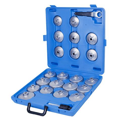 МАСТАК (103-40023C) Набор съемников масляных фильтров, 23 предмета