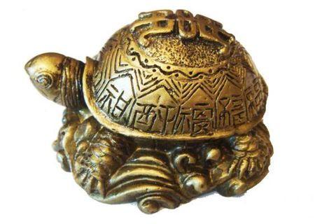 Черепаха полистоун мини