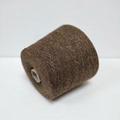 Bourette, Шёлк 100%, Рыже-зеленовато-коричневый, буретный, 1/13, 1300 м в 100 г