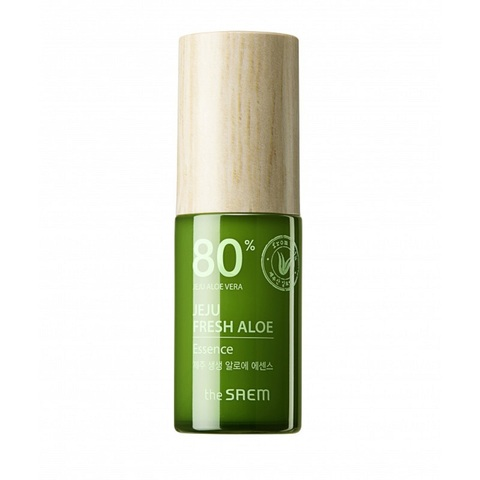 The Saem Jeju Fresh Aloe Essence увлажняющая эссенция для лица с алоэ