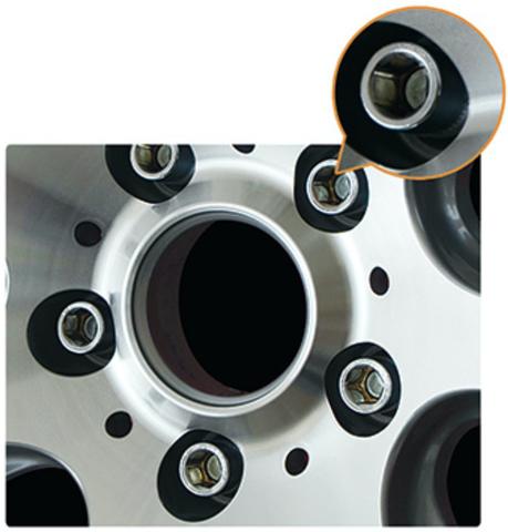 Болт колёсный М14x1.5 длина=28мм внутренний 6-гранник конус 60º хром