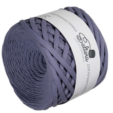 Трикотажная пряжа Saltera 82 Серо-пурпурный
