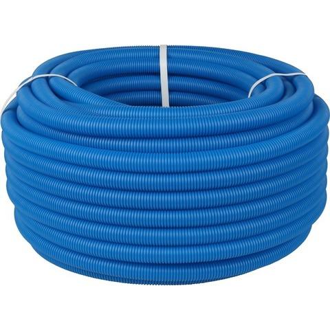 Stout гофрированная труба 40 мм синяя (для труб 25-32) в бухтах 50 метров (SPG-0001-504032) - 1 м