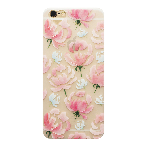 Чехол для IPhone 6/6S Peonies