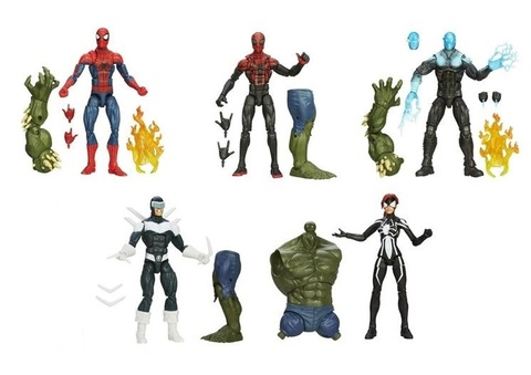 Marvel Legends Infinite — The Amazing Spider-Man 2 Wave 02