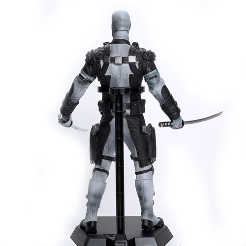 Deadpool Action Figure Collectible Model Gray 12