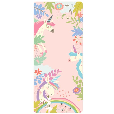 Детский коврик Unicorns 152*61*0,3 см из микрофибры и каучука