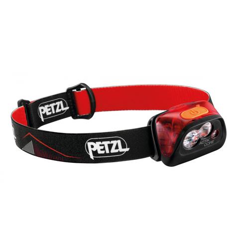 Фонарь светодиодный налобный Petzl Actik Core красный,450 лм, аккумулятор